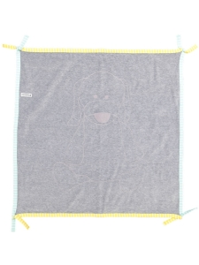 Geggamoja Doddi Blanket Grå