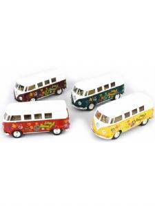 VW Buss / Folka Buss Målad 1962