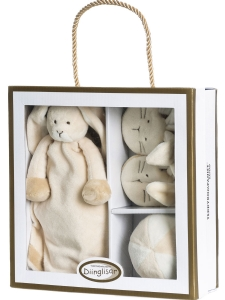 Teddykompaniet Dinglisar Giftbox Kanin