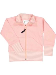 Geggamoja Zipsweater Rosa GOTS