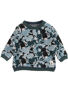 Small Rags Sweatshirt Camo OEKO-TEX