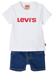 LEVI'S GIFTPACK SHORTS & T-SHIRT 62-98 cl