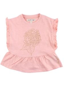 Small Rags T-Shirt Korall Guld GOTS 110 cl