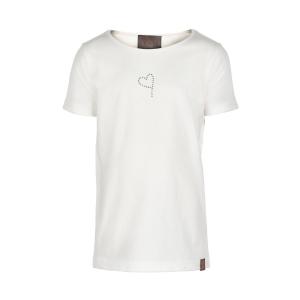 Creamie T-Shirt Spetskant - Vit