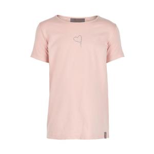 Creamie T-Shirt Spetskant - Rosa