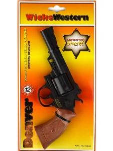 Wicke Western Knallpulverpistol 12-skott - Denver