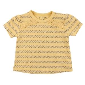 Fixoni T-Shirt Gul Blommig EKO