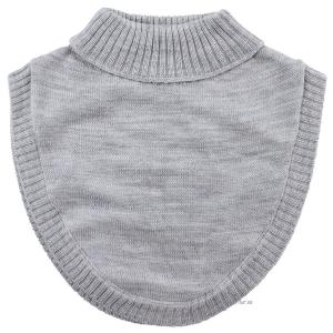 Fuskpolo 100% Wool - Grå