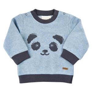 Mjuk Sweatshirt med Panda
