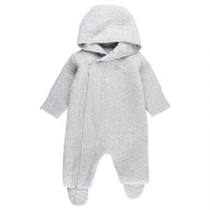 Babyoverall / PrematurOverall 74 cl - Grå