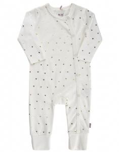 Me Too Pyjamas / Sparkdräkt med Guldhjärtan