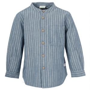 Barnskjorta med farfarskrage