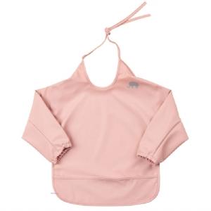 Celavi PU-Förkläde/Haklapp Ficka o Ärmar Rosa