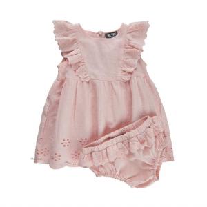Rosa Spetsklänning med trosor