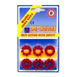 Knallpulverskott 8-ring / Skott för knallpulver