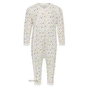 Fixoni Sparkdräkt med  fot / Pyjamas med fot 50-74...